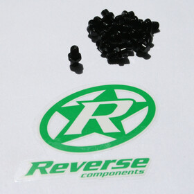 Reverse Escape Set de Pins de Pedal, black